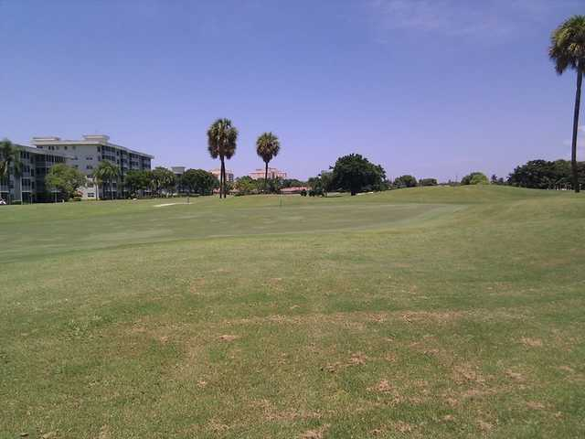 A view of hole #8 at Palm-Aire Country Club - Cypress Course