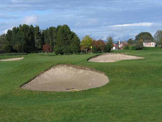 Inverness Golf Club: 4th green