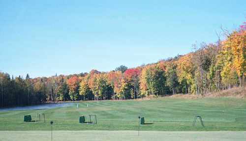 A view of the driving range at George Young Recreation
