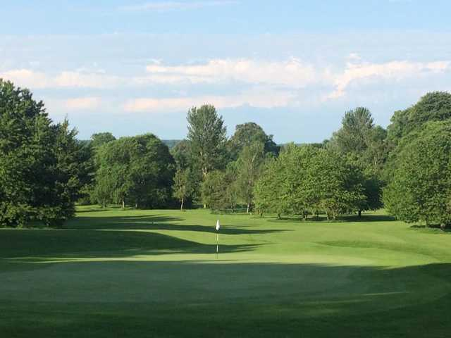 View of a green from Cobtree Manor Park Golf Course