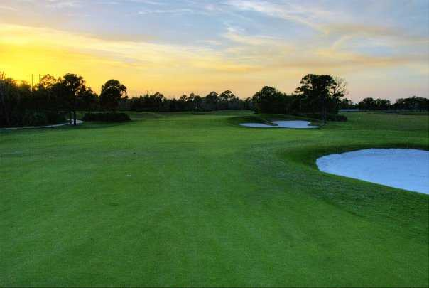 A view of fairway #11 at The Champion Turf Club at St. James