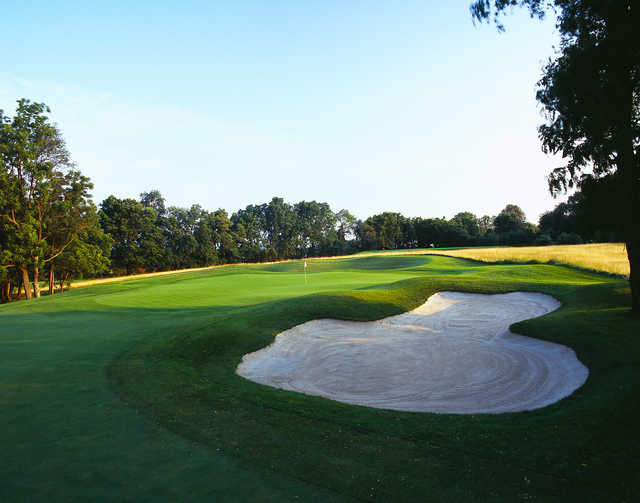 View of the 4th green from The Architects Golf Club