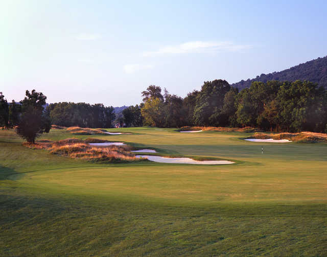 View of the 5th hole at The Architects Golf Club