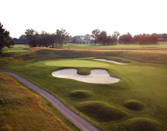 The 7th hole at The Architects Golf Club