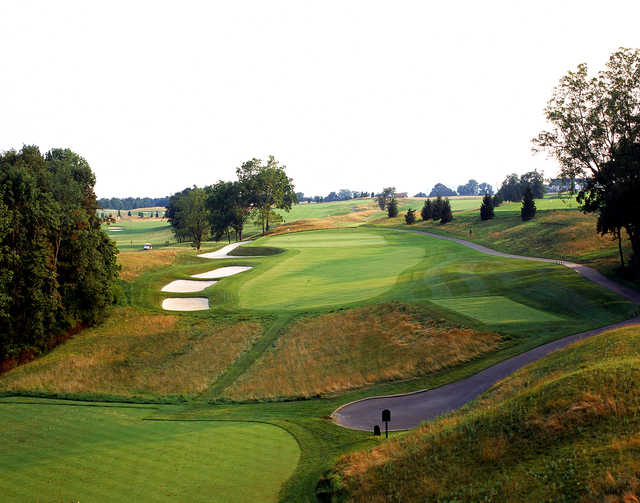 The 8th hole at The Architects Golf Club