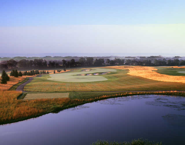 View from the 10th tee at The Architects Golf Club