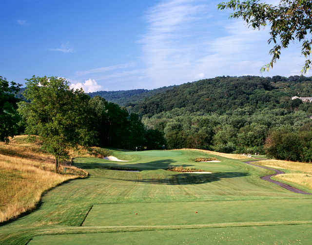 View from the 12th tee at The Architects Golf Club