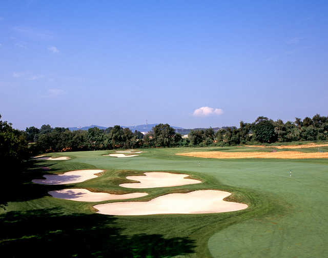 View of the 16th green from The Architects Golf Club