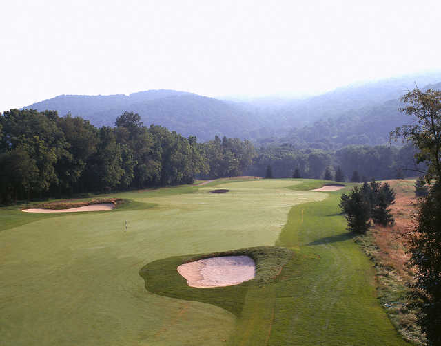 The 1st hole at The Architects Golf Club