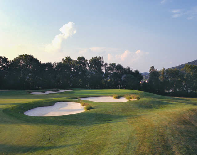 The 3rd hole at The Architects Golf Club
