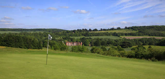 View from a green at Lullingstone Park Golf Course