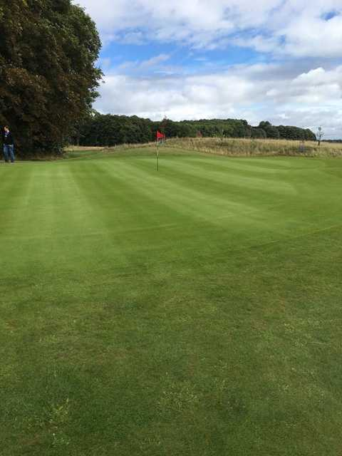 View of a green at Ferrybridge Golf Club