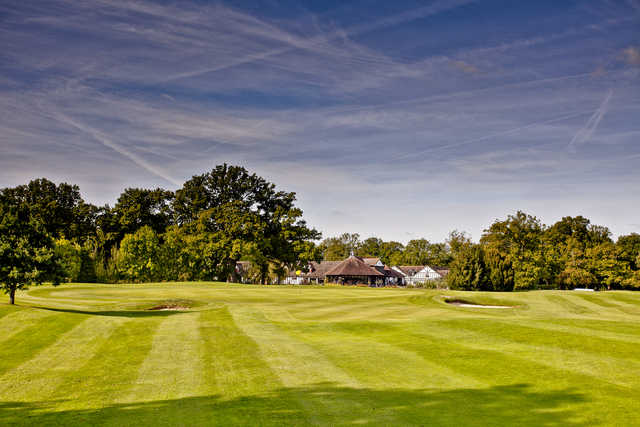 A view from Hever Castle Golf Club