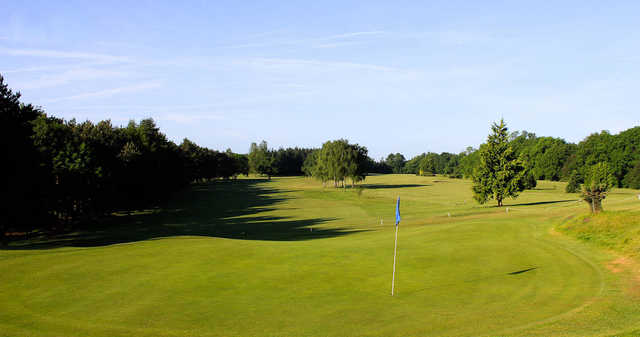 View of a green at The Millbrook Golf Club
