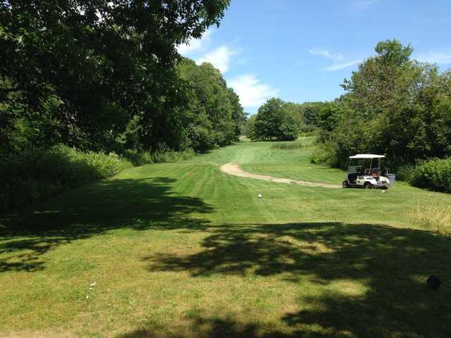 View from a tee at Hampden Country Club