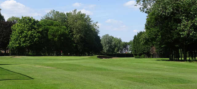 View of a green at Beauchief Golf Course