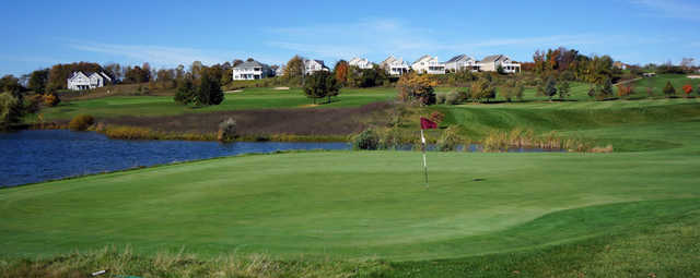 View from the Crown Golf Course