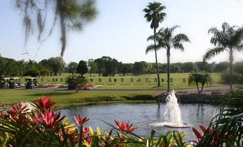 A view over the water from The Groves Golf Course