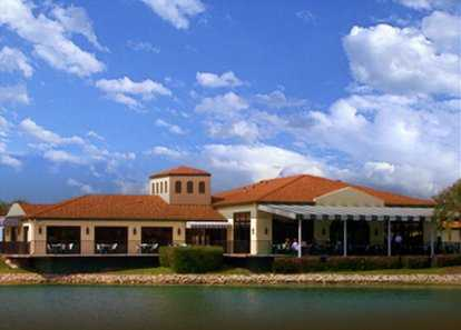 A view of the clubhouse at Serenoa Golf Club
