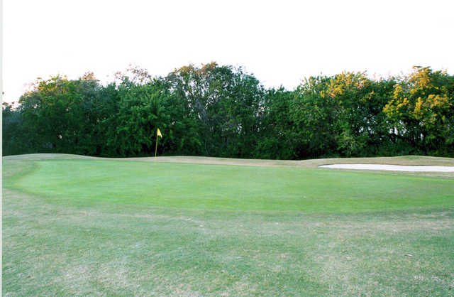A view of the 5th green at Sebastian Golf Course