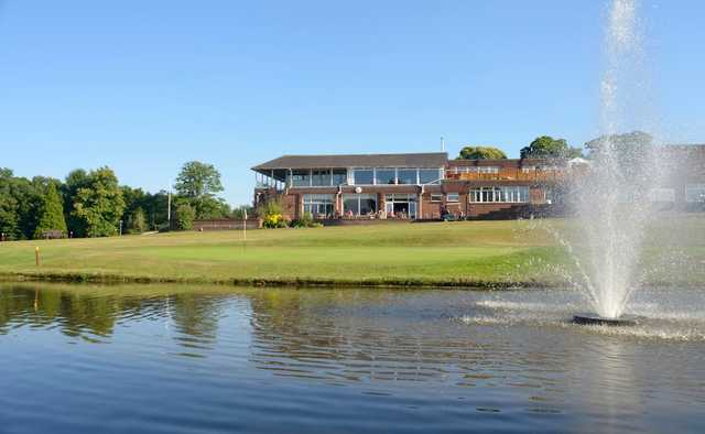 View of the clubhouse at West Malling Golf Club