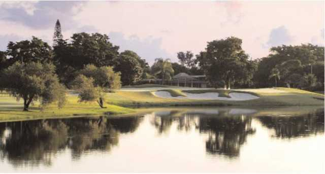 A view from Woodlands Country Club