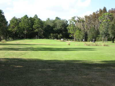 A view of hole #8 at Pebble Creek Country Club