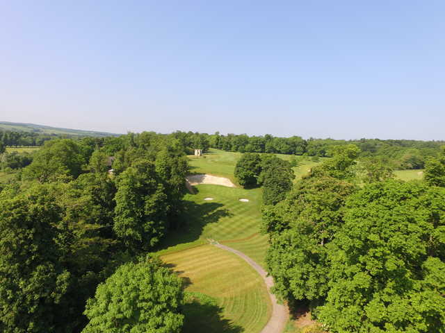A view from Harleyford Golf Club