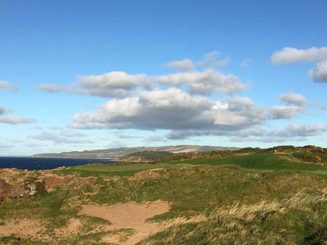 A view from the King Robert the Bruce Course at Trump Turnberry