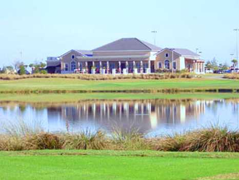 A view of the clubhouse at Duran Golf Club