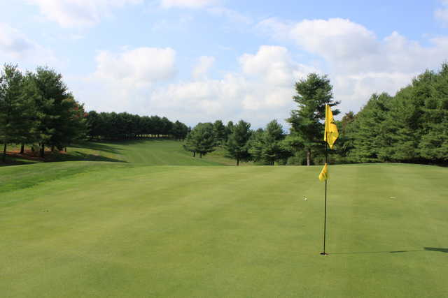 View from a green at Bowling Green Country Club North Course