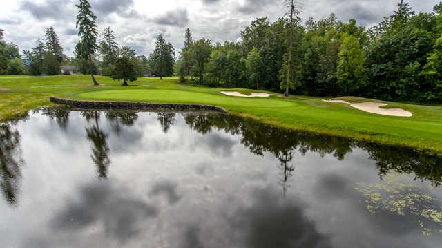 View of the 3rd hole at Druids Glen