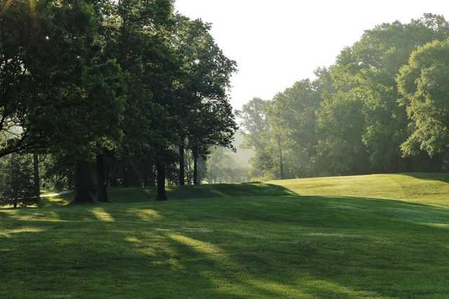 View of the 14th green at Westwood Golf Club