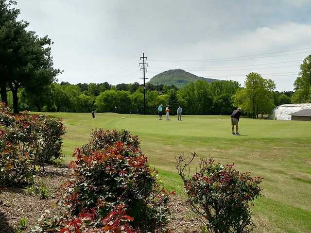 A view from Moccasin Bend Golf Club