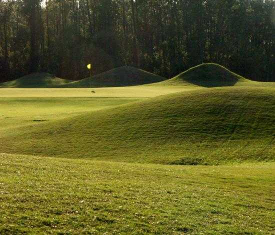 A view of green #11 at Links of Lake Bernadette