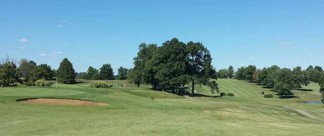 A view from Lake Shore Country Club
