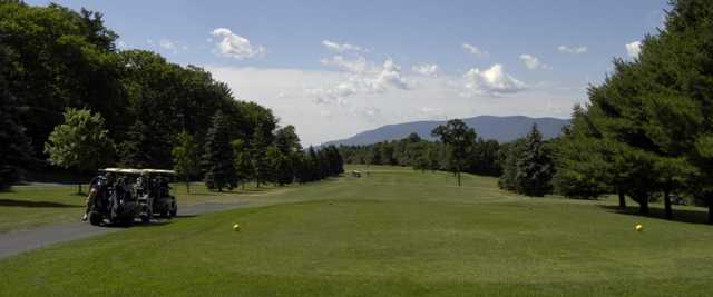 View from a tee at Sunny Hill Resort & Golf Course