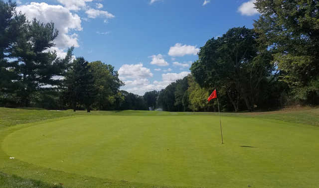 View from a green at JC Melrose Country Club
