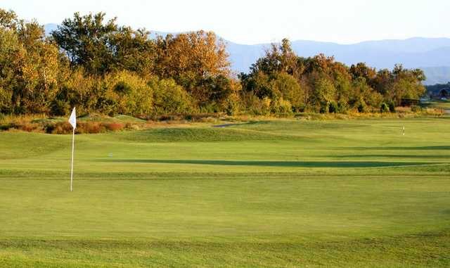 A view of a green at Sevierville Golf Club