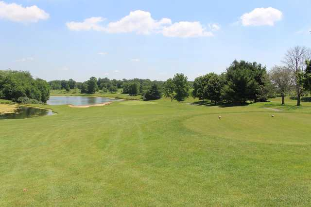 View from a tee at Hawks Nest Golf Club