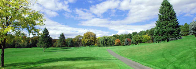 A view from Thunderhart Golf Course