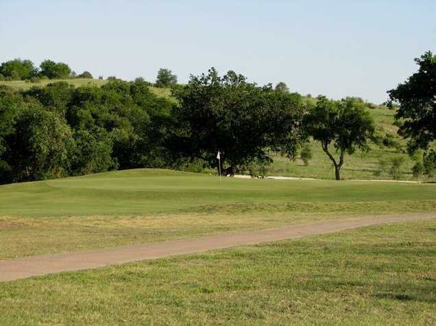 A view of green at Lost Creek Golf Course