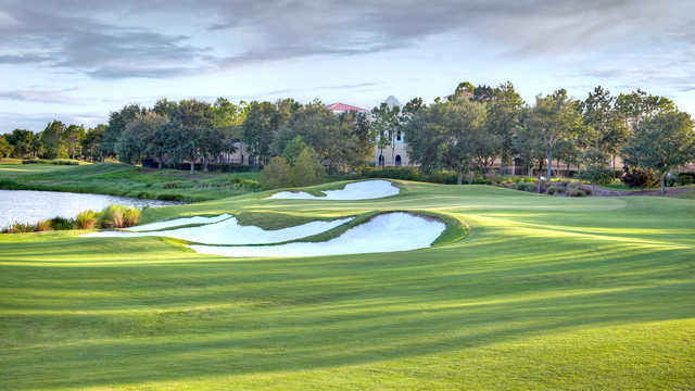 View of the 10th green at Shingle Creek Golf Club