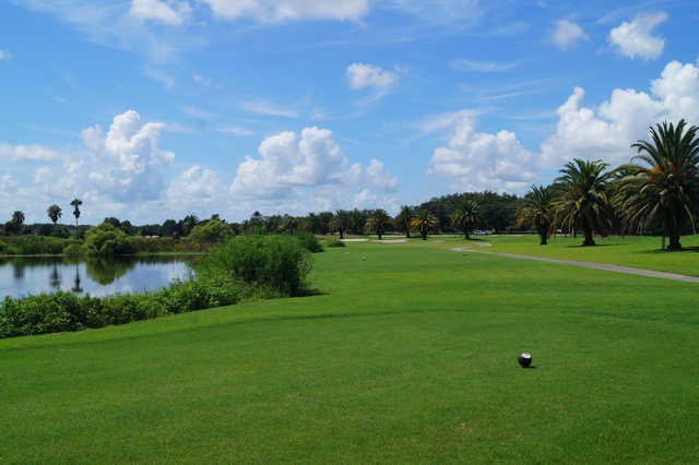 View from the 9th tee at White Heron Golf Club