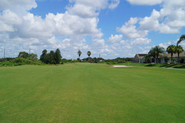 View of the 16th fairway at White Heron Golf Club