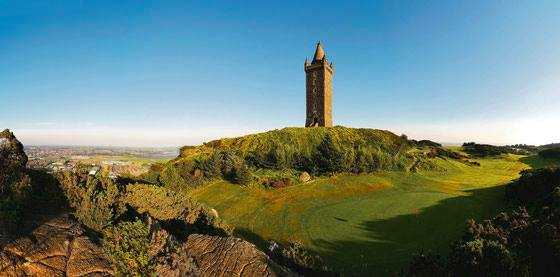 A view from Scrabo Golf Club