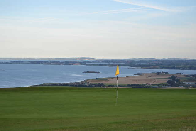 View from a green at Scrabo Golf Club