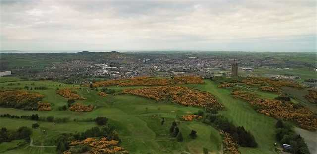 Aerial view of Scrabo Golf Club