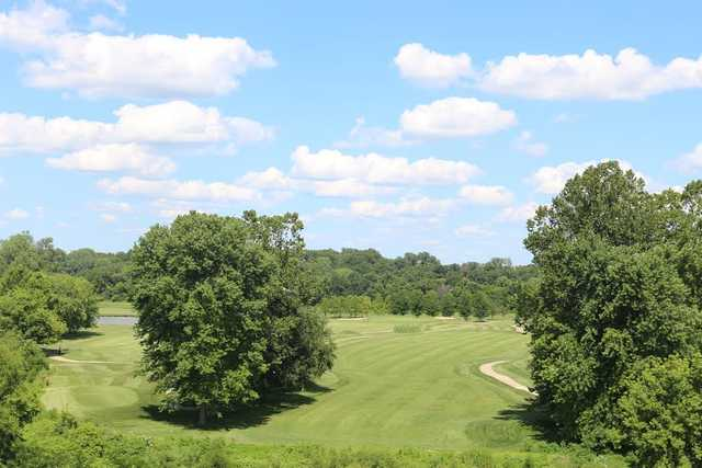 View of the 17th and 18th holes at The Woodlands Golf Club