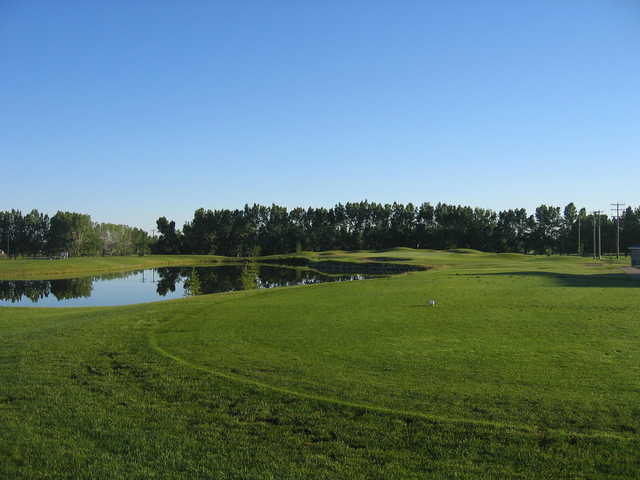 View from the 18th tee at Vulcan Golf and Country Club